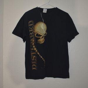 Disturbed 2008 band tee sz M